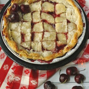 Grilled Cherry Pandowdy
