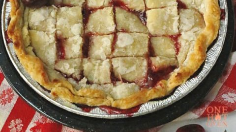 Grilled Cherry Pandowdy