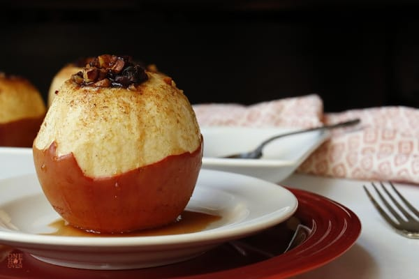 Apple Cider Baked Apples