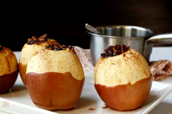 Baked Apple Cider Apples