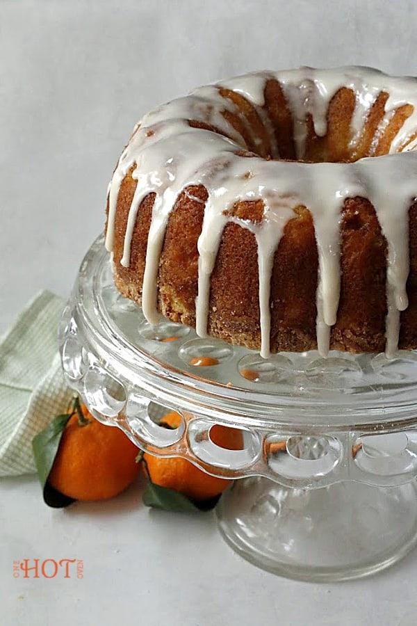 Ice Mandarin Cake