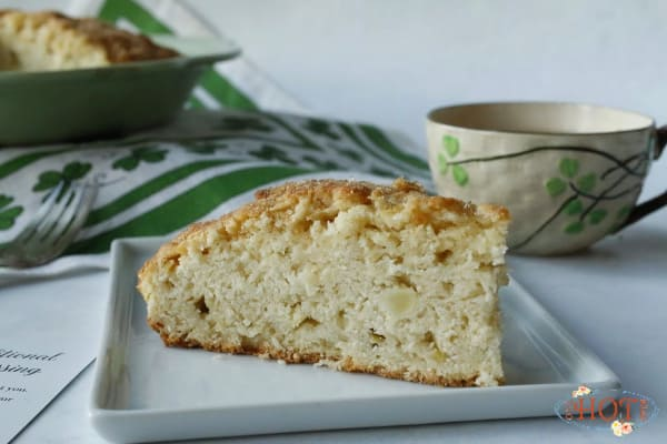 Irish Apple Scone Slice