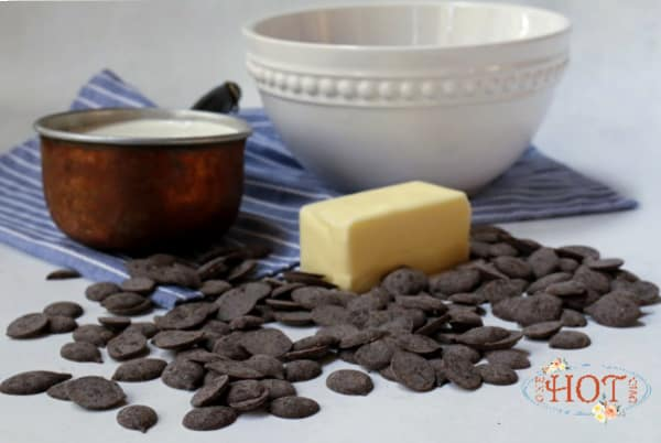 Chocolate Ganache Tart ingredients