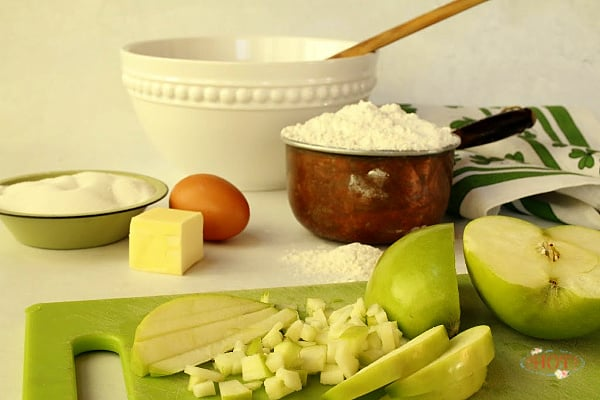 Apple Scone ingredients