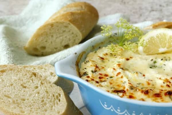 bread and cheese dip