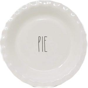 Rae Dunn pie plate