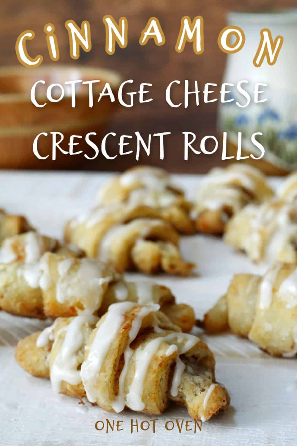 Cinnamon cottage cheese crescent rolls