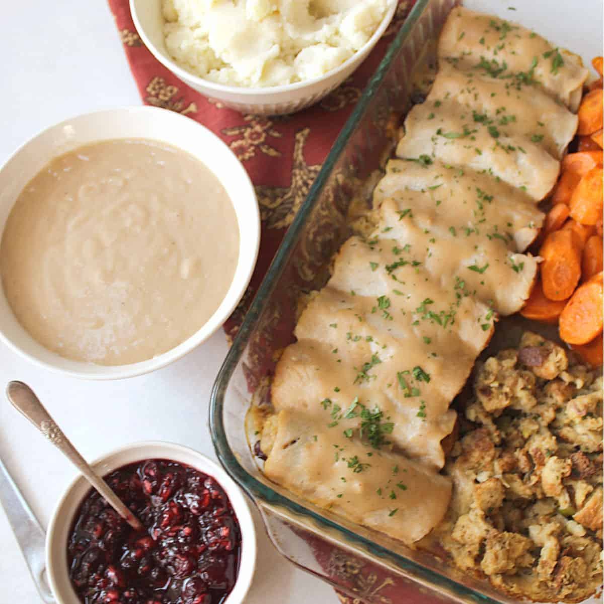 turkey roll ups dinner