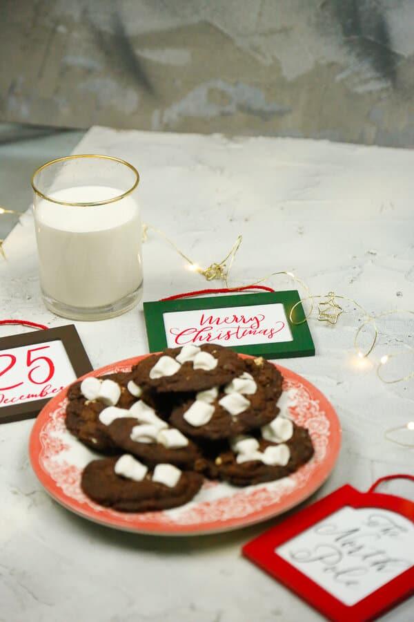 Hot Chocolate Cookies.