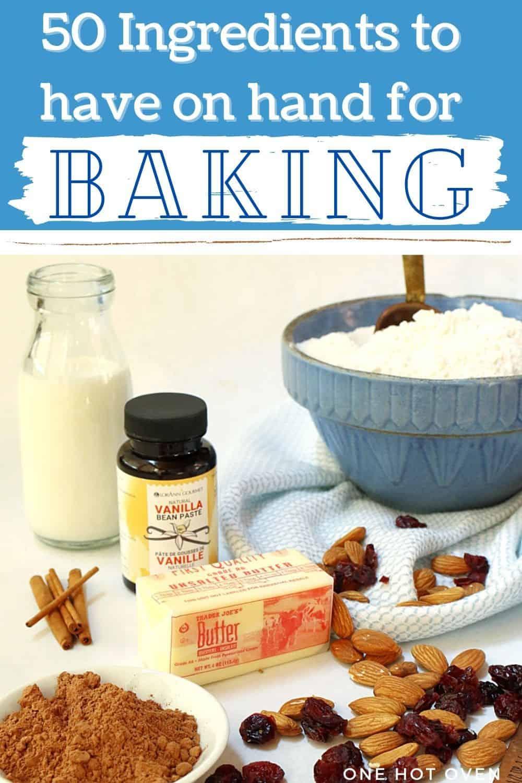 Baking ingredient guide