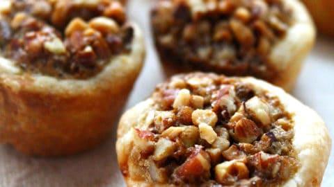 baked pecan tassies