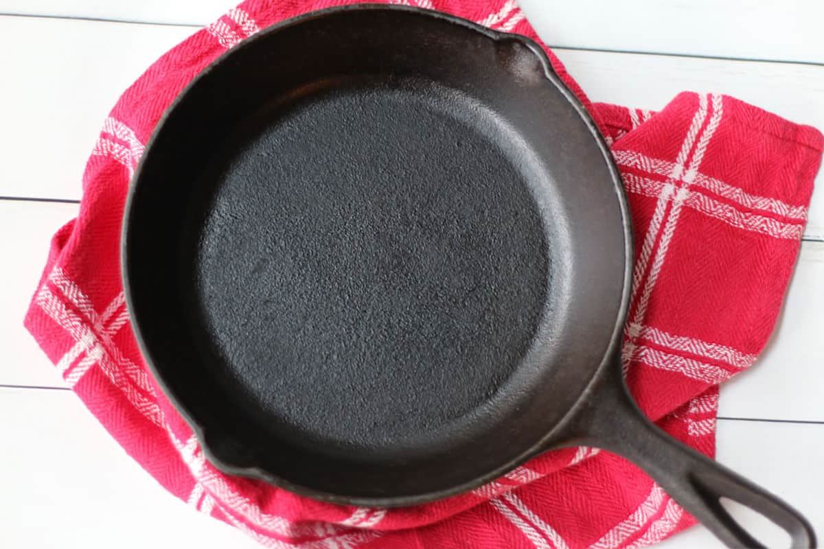 a Lodge cast iron skillet