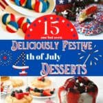 A pin for 4th of July desserts.